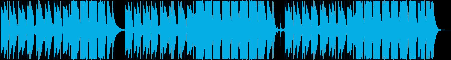アジアンテイストのあるトラップの再生済みの波形