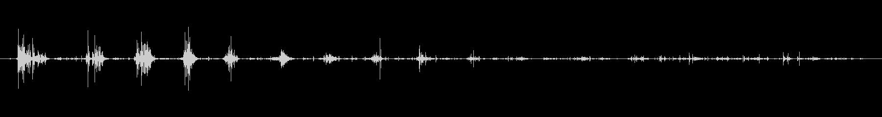 口 クリスプ・マウス・オープン06の未再生の波形