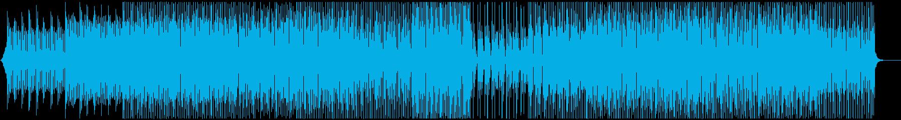 前向き明るい動画やPV-ポップの再生済みの波形