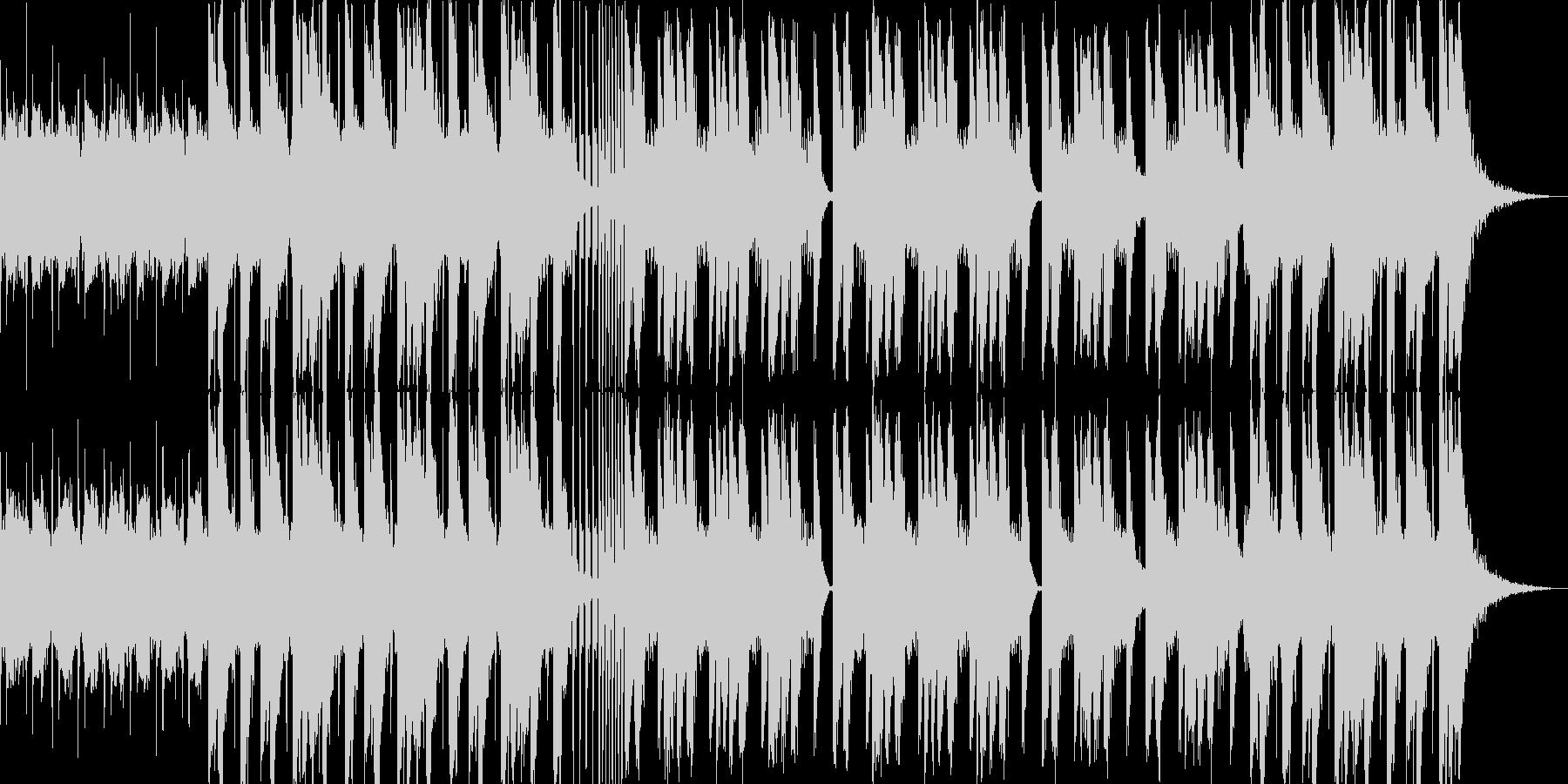 暗くて悪い雰囲気のBGMの未再生の波形
