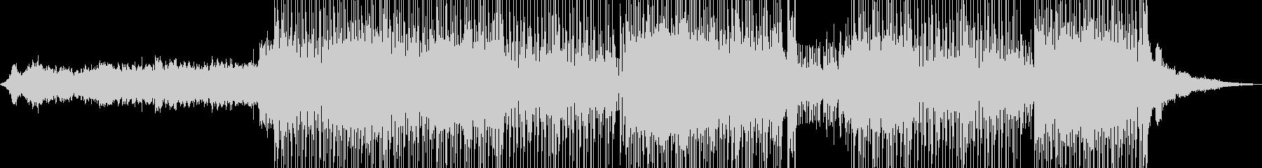 琴・尺八・レトロな演歌調ポップ 長尺+の未再生の波形