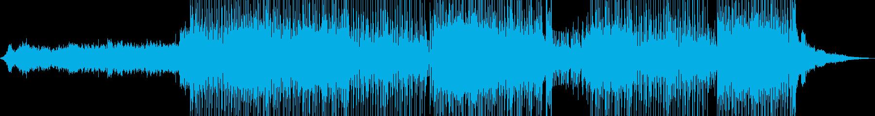 琴・尺八・レトロな演歌調ポップ+の再生済みの波形