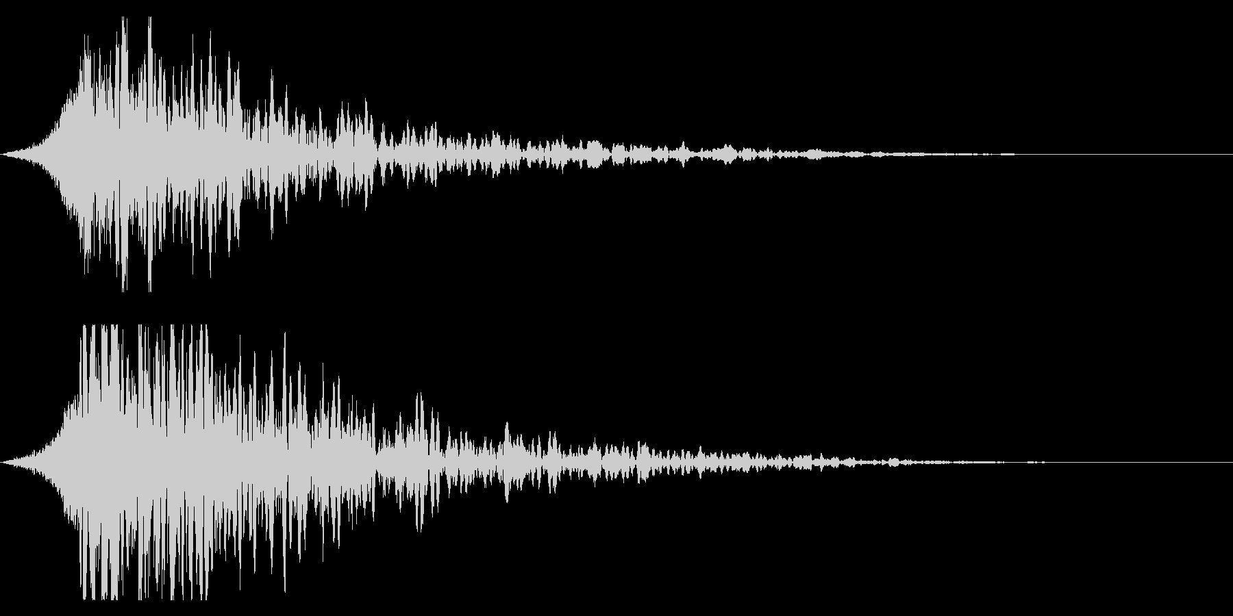 シュードーン-18-3(インパクト音)の未再生の波形
