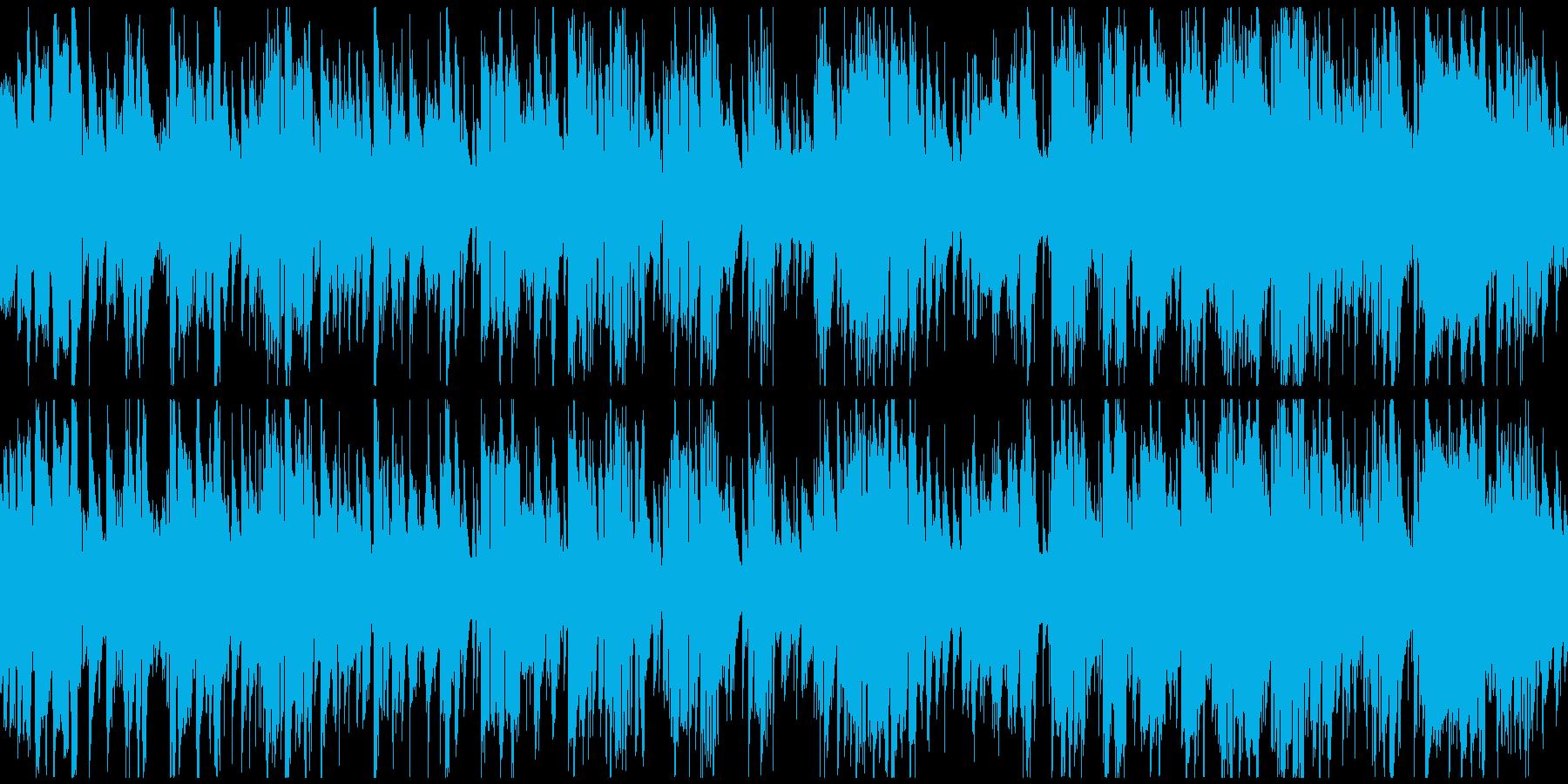 綺麗で優雅なジャズワルツ ※ループ仕様版の再生済みの波形