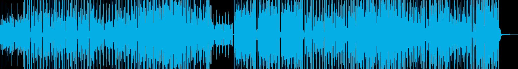 愉快な雰囲気彩るジャジーテクノ Aの再生済みの波形