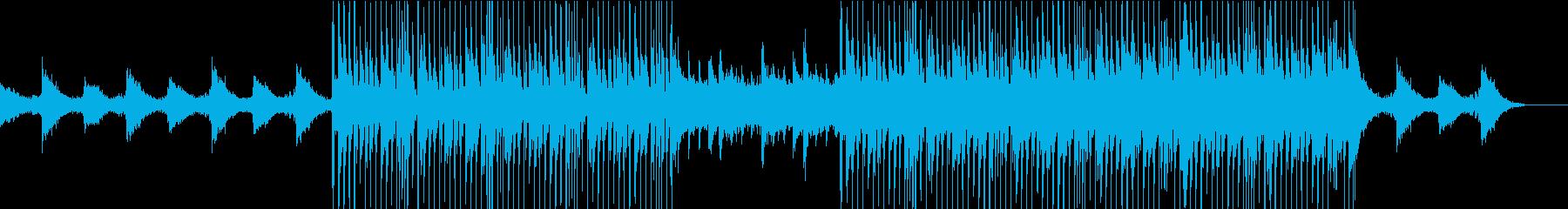 シルキーで滑らかなチルアウトグルーブの再生済みの波形