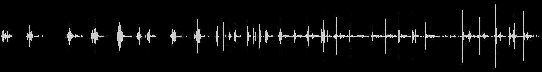 シャベルスノープラスチックショベル...の未再生の波形
