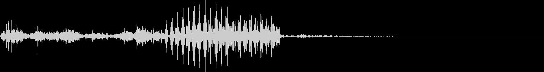SF 電気ノイズ系 サウンドロゴ の未再生の波形