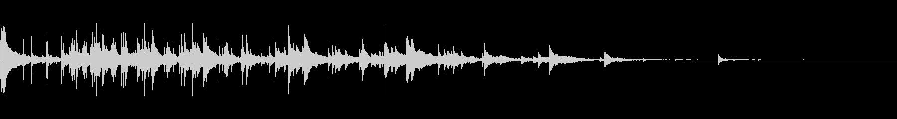ベルチャイムリング1の未再生の波形