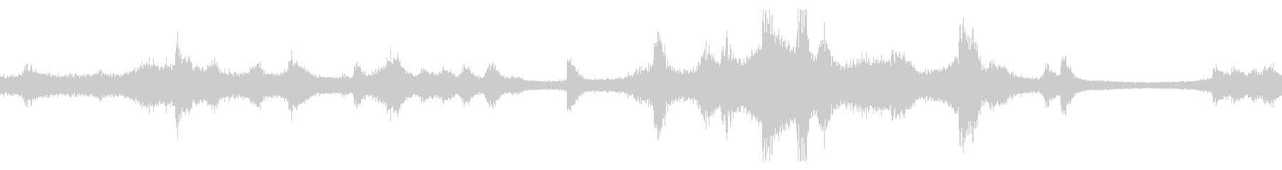 レインボーブリッジの音 ループの未再生の波形