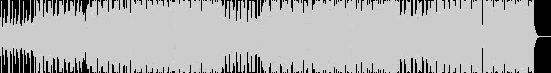 重低音なクラブ系EDMダンスミュージックの未再生の波形