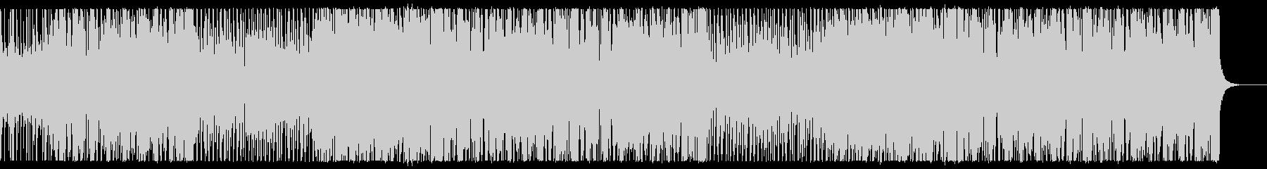 シティポップなアシッドジャズの未再生の波形