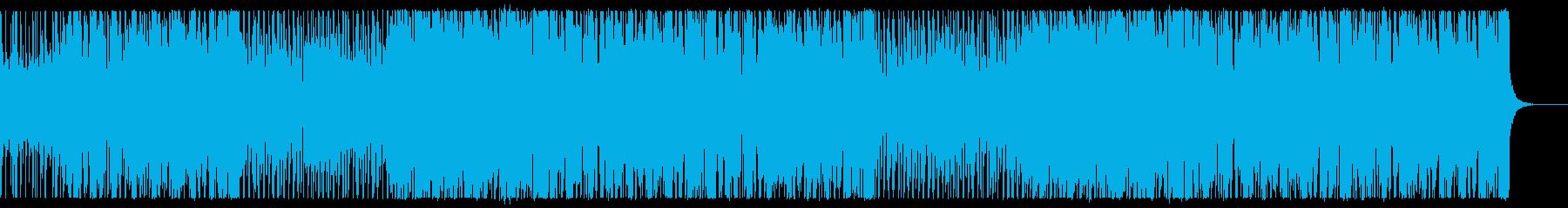 シティポップなアシッドジャズの再生済みの波形