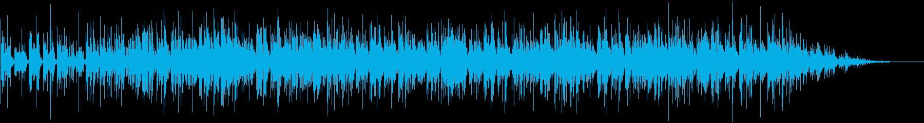 奥多摩湖をイメージして作りました。の再生済みの波形