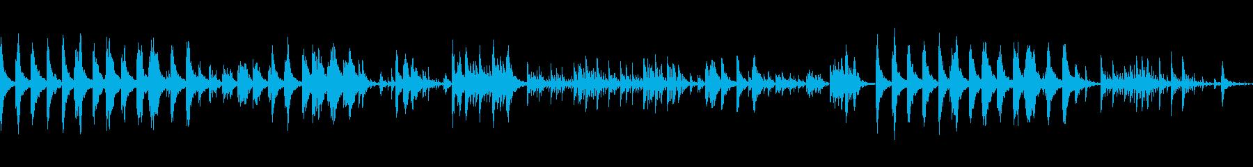 ピアノの軽快なソロが魅力的な曲です。の再生済みの波形