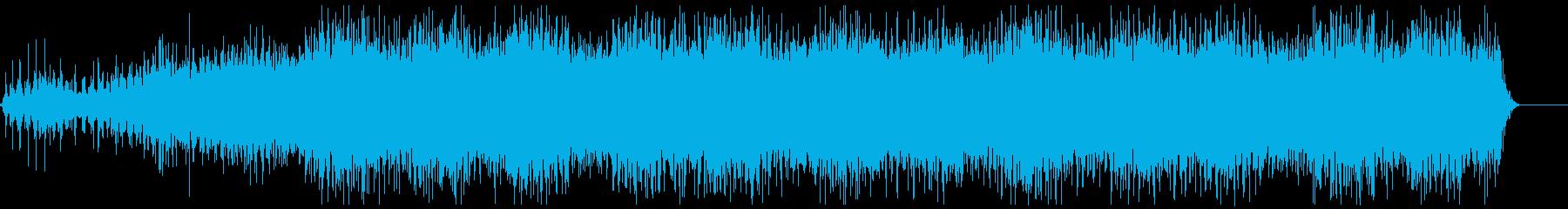 機械稼働音 4の再生済みの波形