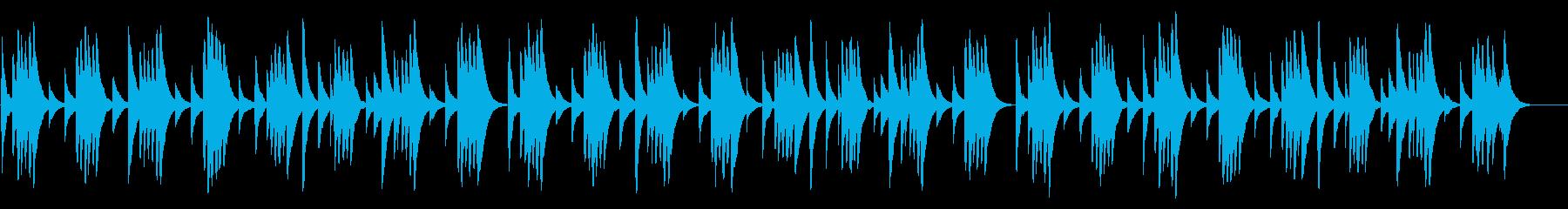 いつくしみ深き 18弁オルゴールの再生済みの波形