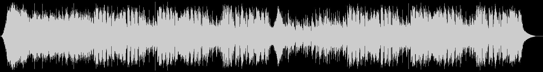 シンセを取り入れたジャズフュージョンの未再生の波形