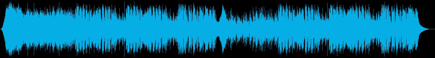 シンセを取り入れたジャズフュージョンの再生済みの波形
