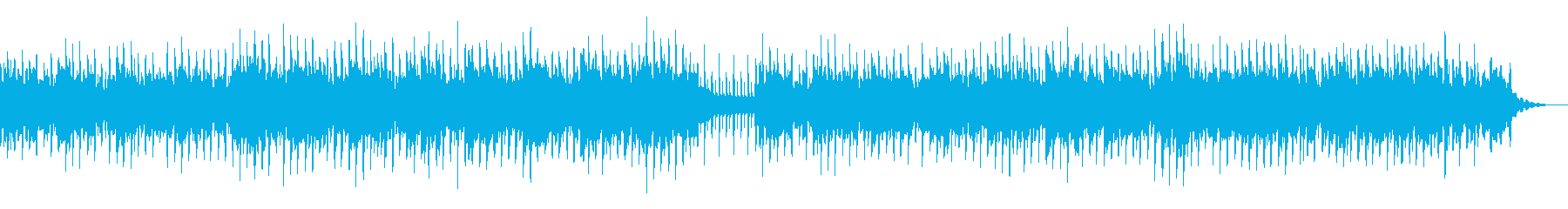 優しい爽やかな雰囲気のテクノポップBGMの再生済みの波形