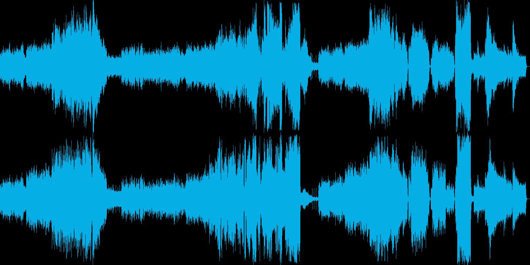 オルゴールがメインのオーケストラ曲。の再生済みの波形