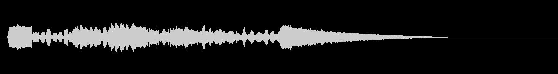 テーマ15B:ウッドウィンズの未再生の波形