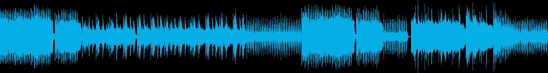 ホラーにぴったりの奇妙なサウンド の再生済みの波形