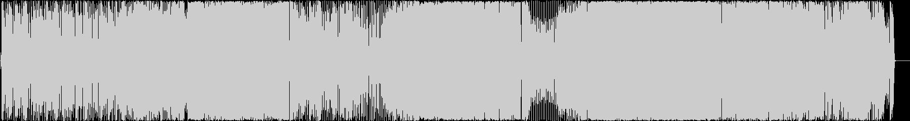Cガールの未再生の波形