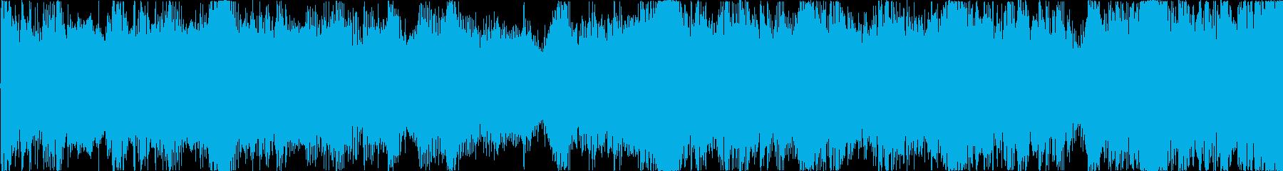 ハリウッド風トレイラー リズム主体01Lの再生済みの波形