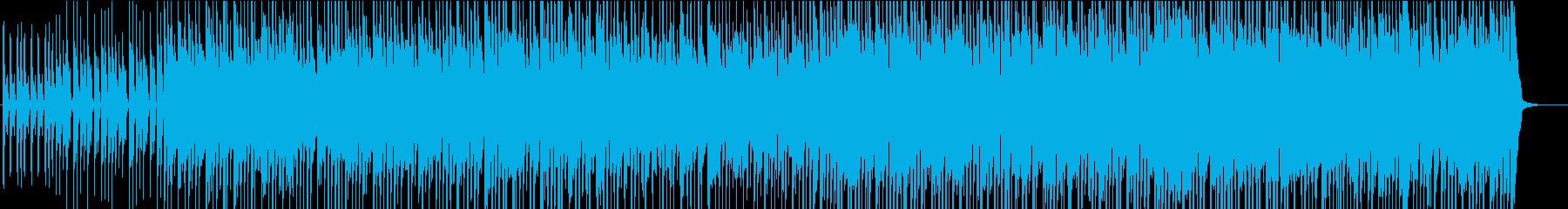ポップロック ブルース ポジティブ...の再生済みの波形