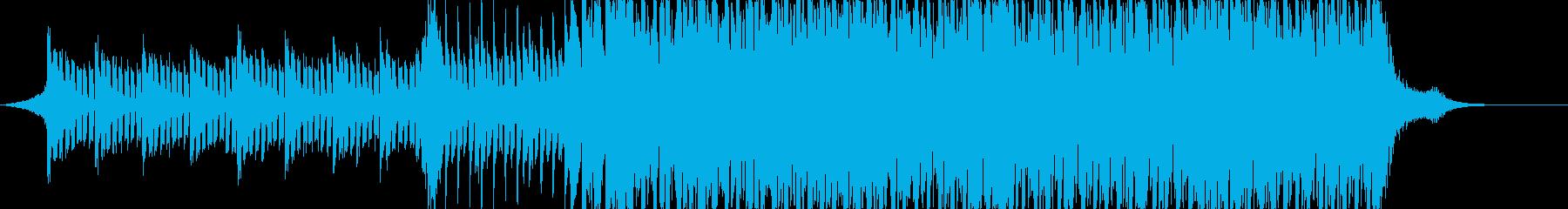 ライブの出囃子で使えるBGMの再生済みの波形