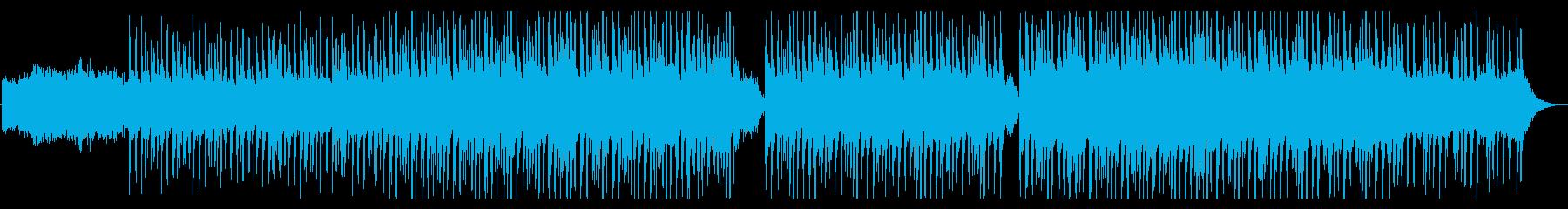 淡々と無機質エレガントなエレクトロの再生済みの波形