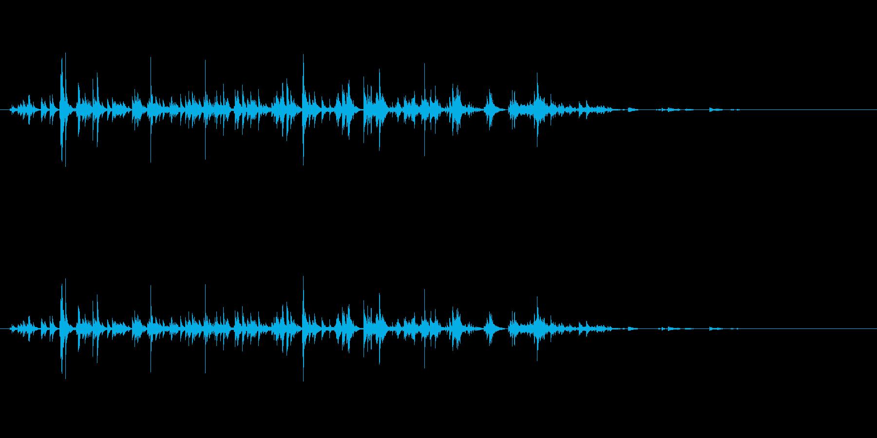 セラミックチャイム、リンギング、ウ...の再生済みの波形