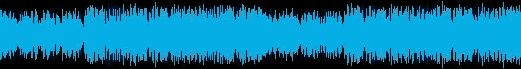 3度おいしいノスタルジックなループBGMの再生済みの波形