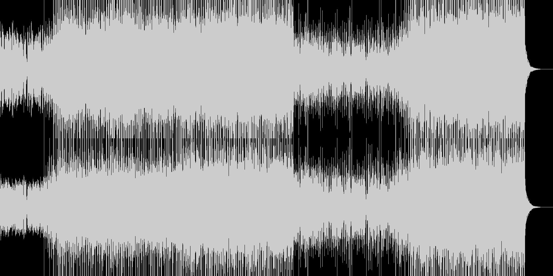 明るく軽快なアイリッシュ、カントリーの未再生の波形