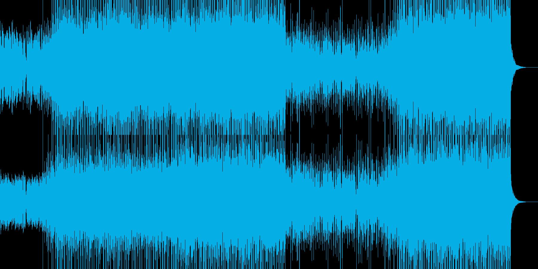 明るく軽快なアイリッシュ、カントリーの再生済みの波形