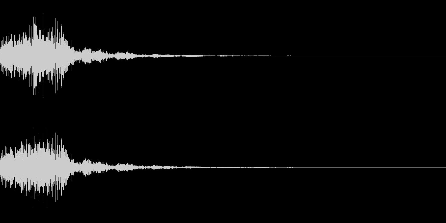 混乱系・アラート音/トゥルルルx1の未再生の波形
