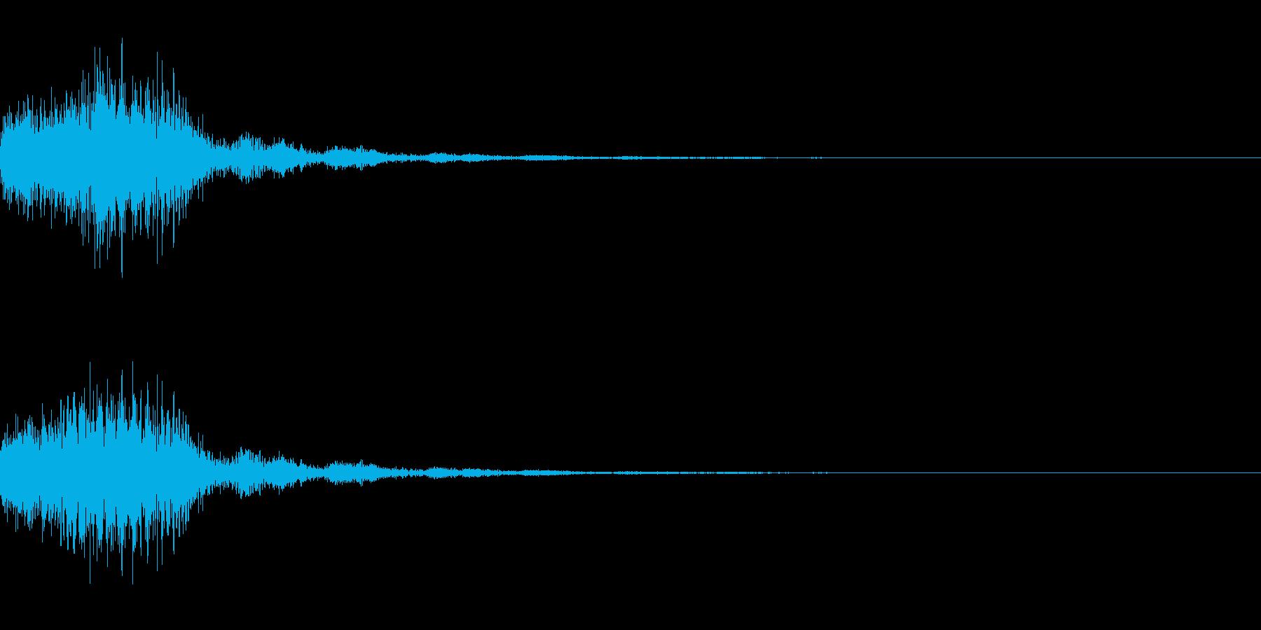 混乱系・アラート音/トゥルルルx1の再生済みの波形