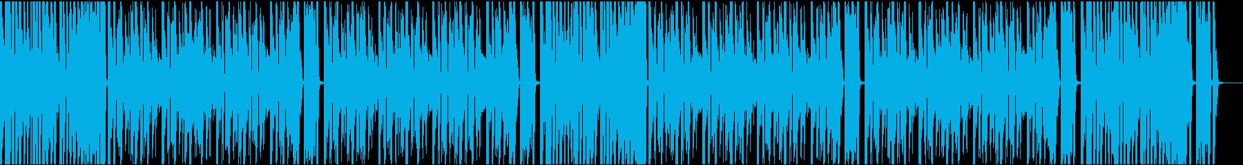 9秒でサビ、イケイケ/カラオケの再生済みの波形