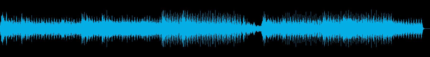 氷穴を冒険するようなイメージBGMの再生済みの波形