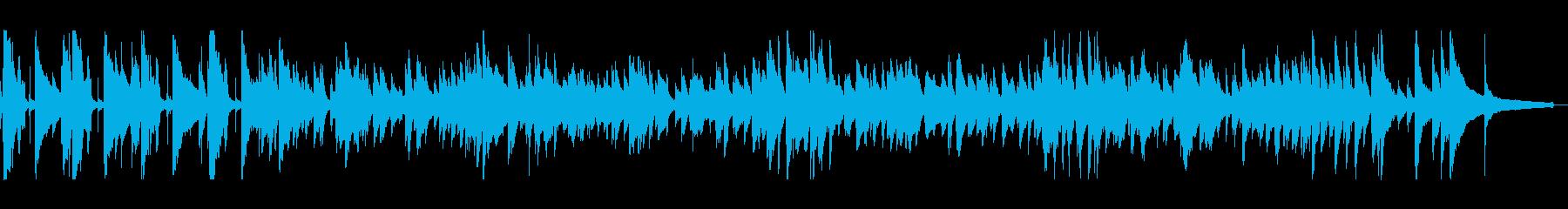 レースゲームや乗り物のBGMに最適の再生済みの波形
