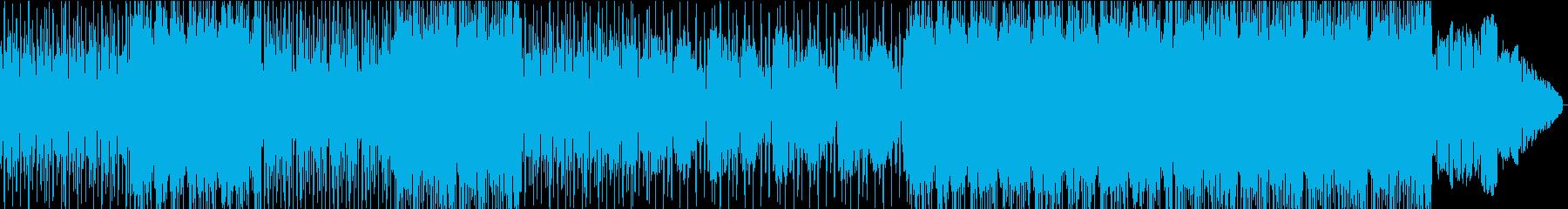 メロディアスでダンサンブルなEDMの再生済みの波形