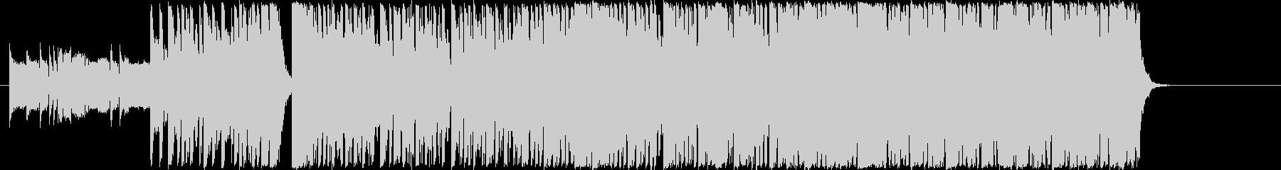 アグレッシブなミッションドラムベースのみの未再生の波形