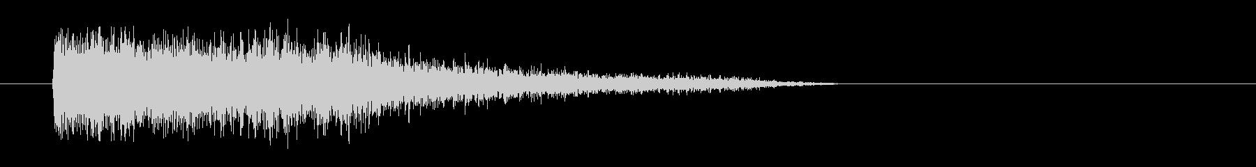 レーザー音-80-3の未再生の波形