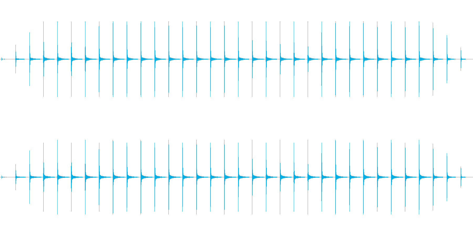 時計 ticktock_44-1_revの再生済みの波形