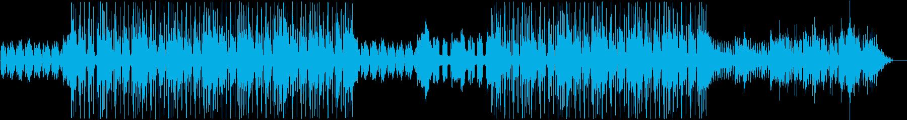 忍者、侍、ゲーミングHIPHOPの再生済みの波形