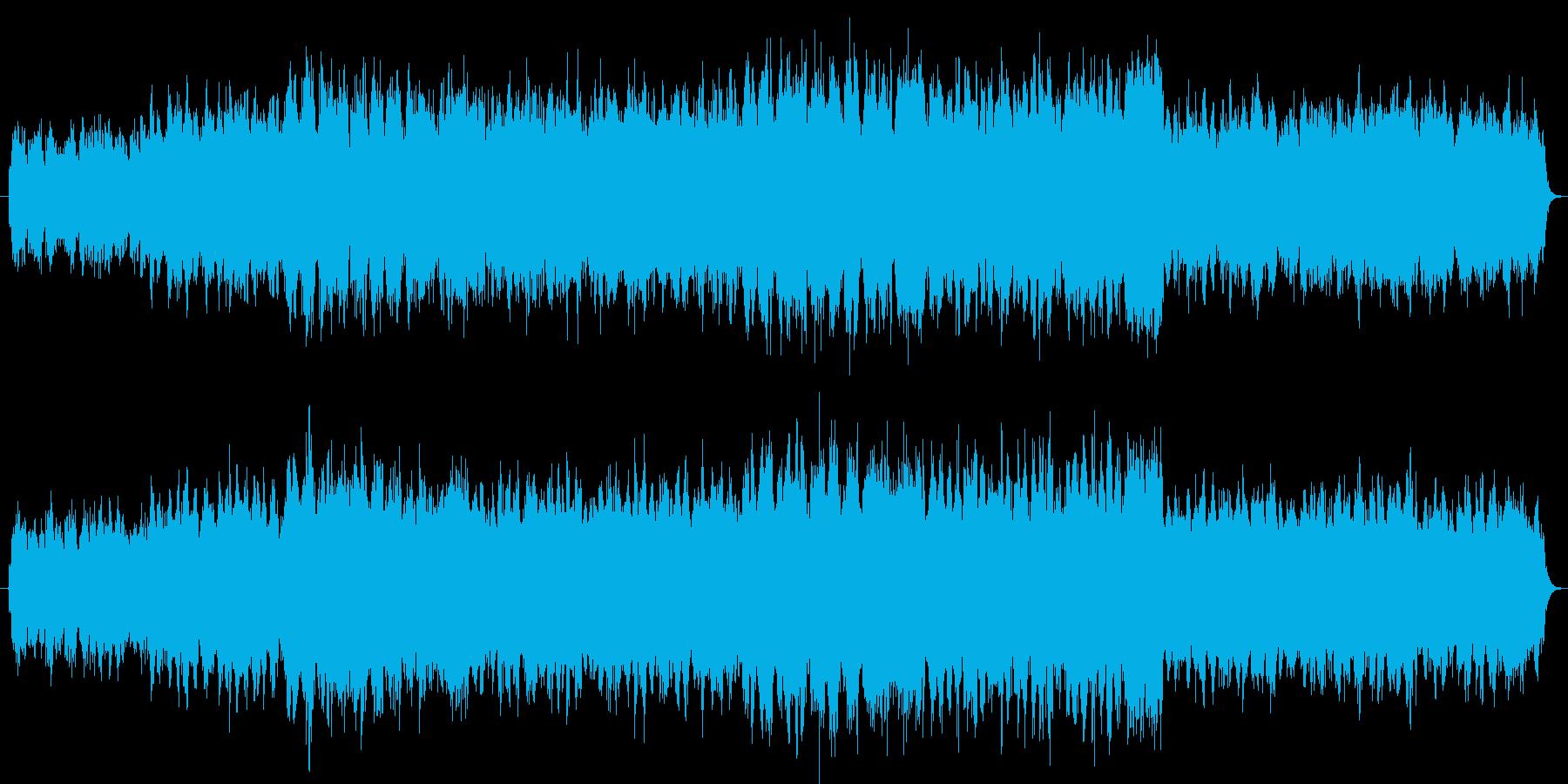 ゆったりとした雰囲気のあるバラードです。の再生済みの波形