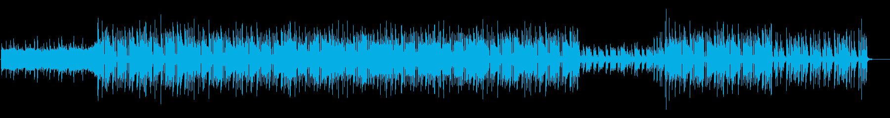 ちょっと切なく感動的なEDMの再生済みの波形