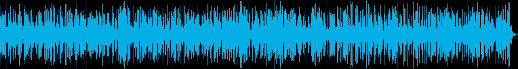 おしゃれでクールなジャズピアノの再生済みの波形