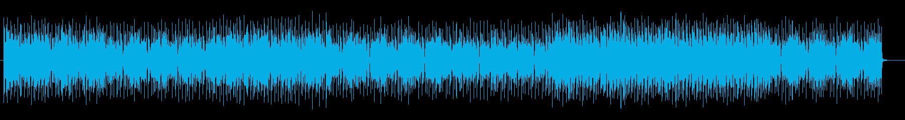 おしゃれでキャッチーなシンセテクノの再生済みの波形